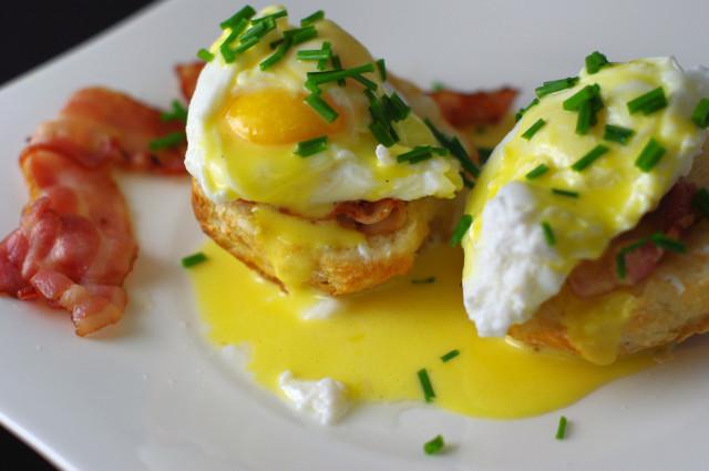 Eggs benedict Via wikipedia.com