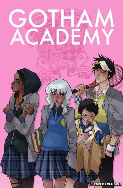Gotham Academy Cover via The Mary Sue