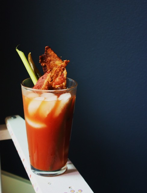 Bloody Mary bacon Via baconmakeseverythingbetter.com