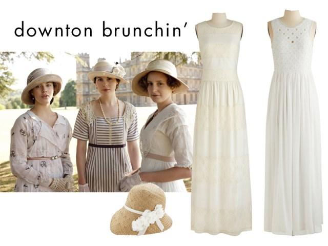 downton brunch