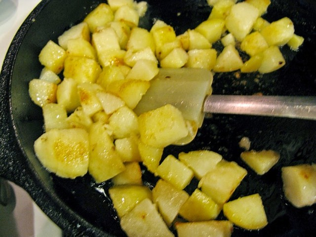 how to make fluffy home fries