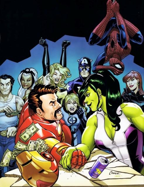 iron man comics spiderman superheroes avengers comics she hulk marvel comics comics girls 1280x1_www.wallpaperfo.com_38
