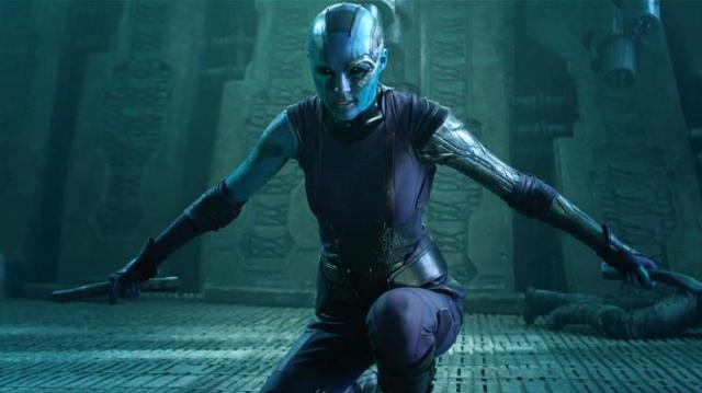 Look how freaking amazing Karen Gillan looks in this movie! via sciencefiction.com