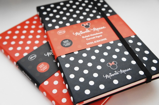 Yes, there was at one point a Minnie Mouse Moleskine. (Via Blog of Shadows)