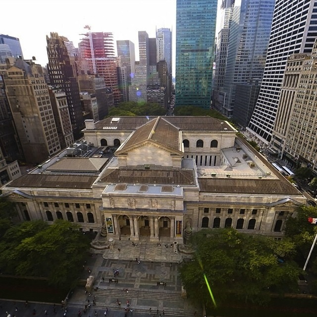 The New York Public Library via its instagram
