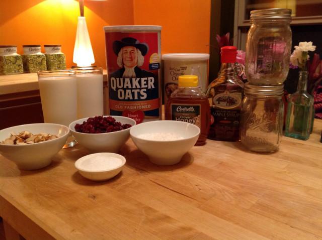 oatmealingredients