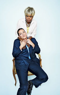 Martine and her wife Bina via NY Mag