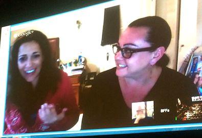 Talkback with Tara Karsian and Andrea Gano, real-life BFFs but not real-life lovers.