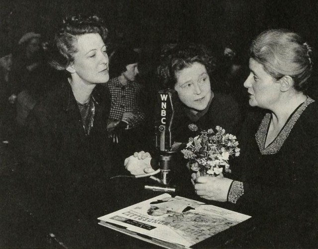 "Mary Margaret McBride interviews Peggy Webster and Eva Le Gallienne (""it's a triumvirate of gay!"") via deviates inc"