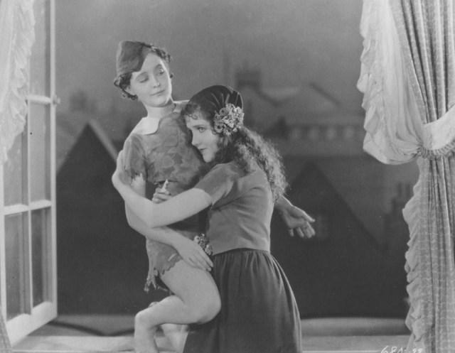 Betty Bronson and Mary David, via nitrateville