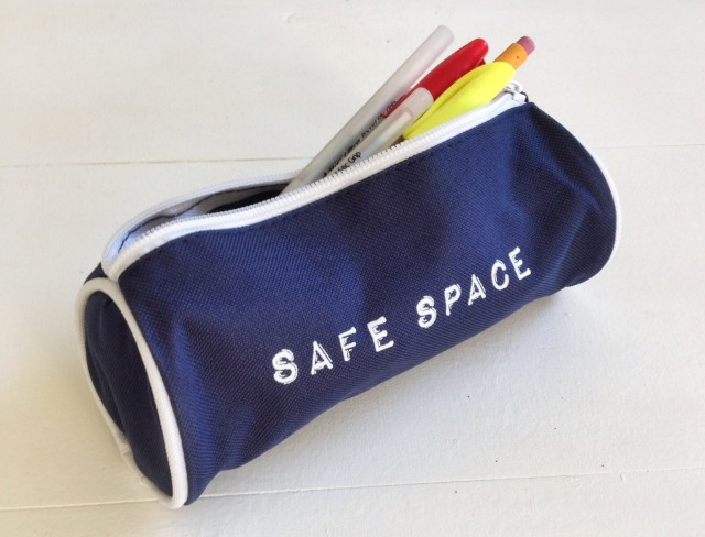 Safe Space Pencil Case Autostraddle