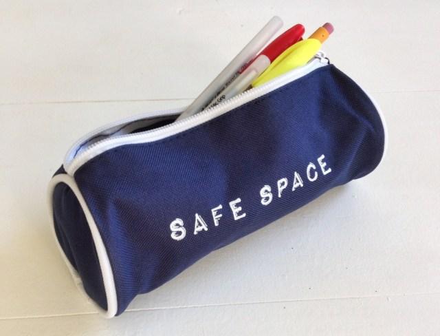 Safe Space Pencil Case Autostraddle