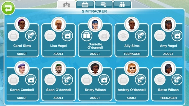 My Sims FreePlay fantasy world, where there are twice as many POC as white people. Deal with it, ginger sim.