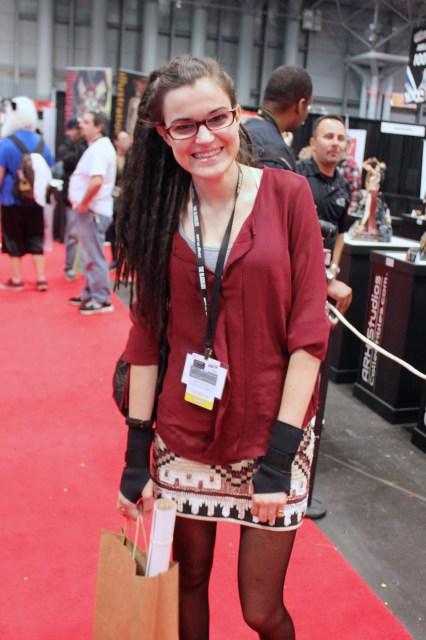 New York Comic Con 2014 - Cosima Cosplay. Orphan Black.