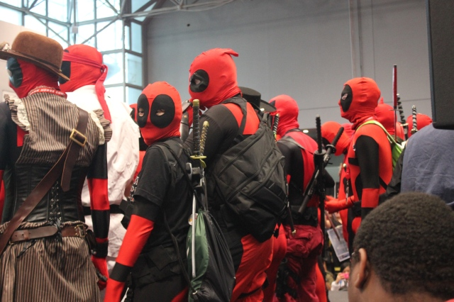 New York Comic Con 2014. Deadpool.