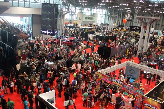 New York Comic Con 2014.