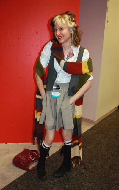 New York Comic Con 2014. Dr. Who cosplay.