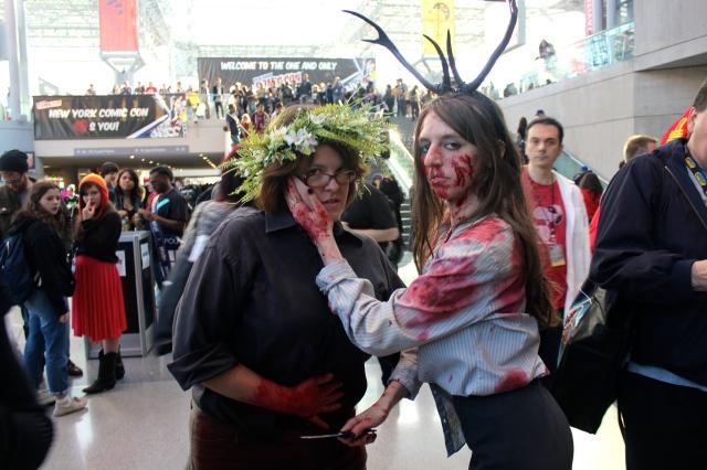 New York Comic Con 2014. Cosplayers.