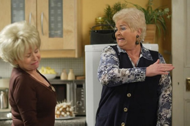 """""""It's Queen to you Peggy Mitchell. QUEEN."""""""
