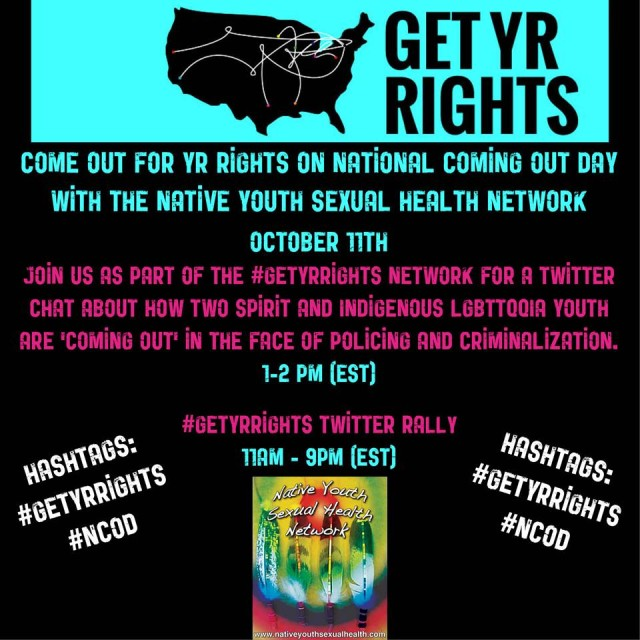 via The Native Youth Sexual Health Network Facebook