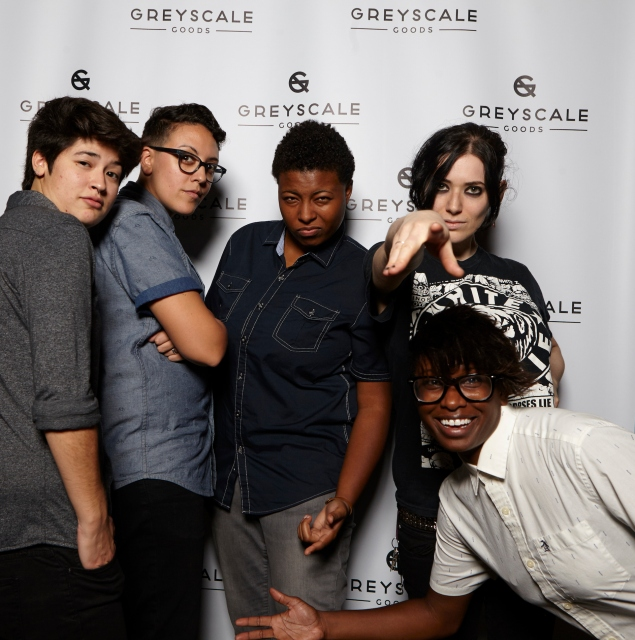 Everyone you've ever cared about at the Greyscale Goods launch party