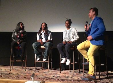 Talkback with Patreece Johnson, Renata Hill, and Terrain Dandridge with moderator and ImageOut programmer, Michael Gamilla.