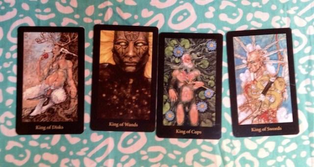 Kings, from the Mary-el Tarot