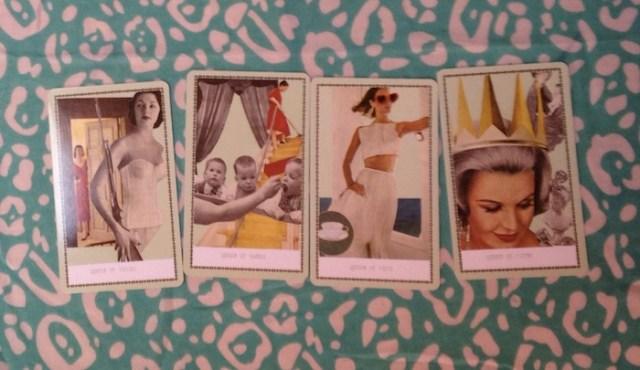 Queens, from the Frau Grand Duchess Tarot