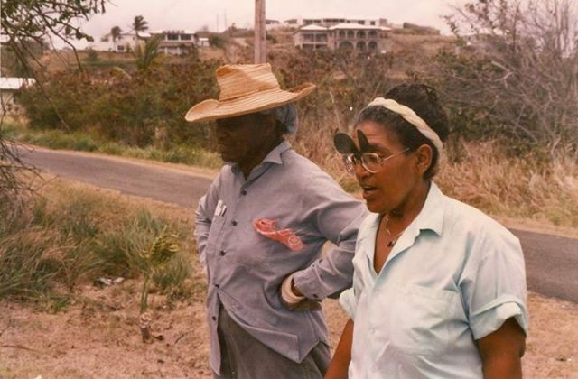 Audre Lorde and Gloria Joseph.