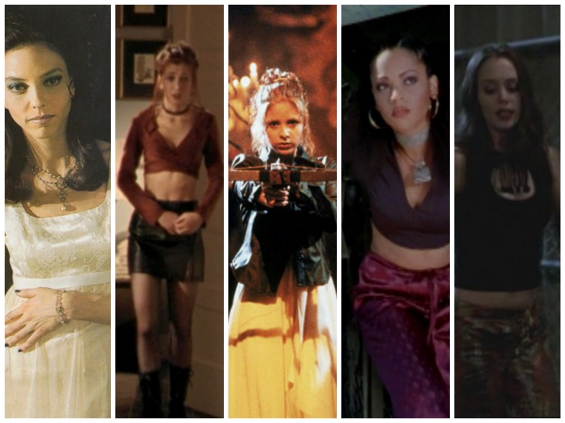 7 badass ladies of buffy and the halloween costumes they inspire autostraddle - Halloween Costumes For 7