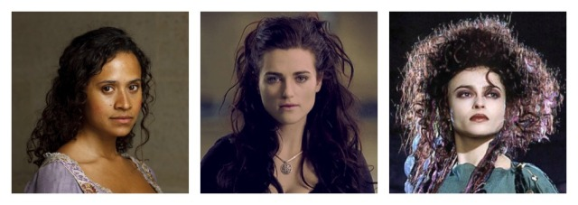 A. Queen Guinevere of the BBC's 2008 Merlin adaptation B. Lady Morgana, also of the BBC's 2008 Merlin adaptation C. Morgan Le Fay of the 1998 Merlin miniseries