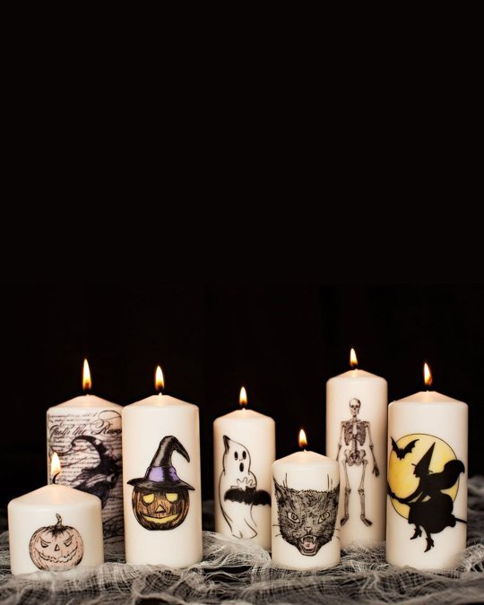 halloween candles project