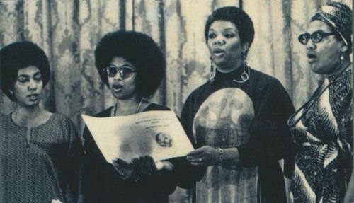 June Jordan, Alice Walker, Lucille Clifton, Audre Lorde At Phillis Wheatley Poetry Fest, 1979