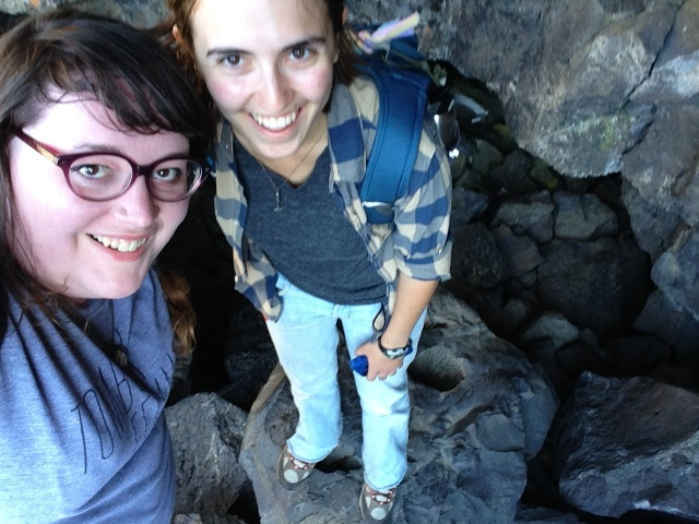 We told them we didn't have White-nose Bat Syndrome and they let us go into a cave!