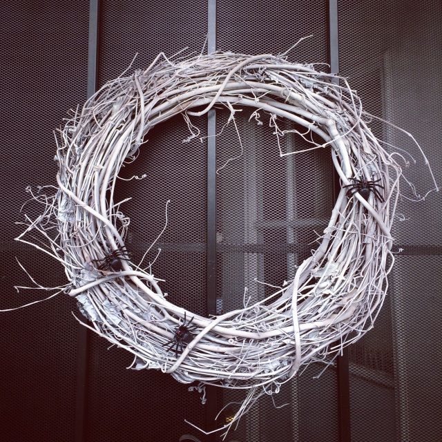 halloween wreath ok