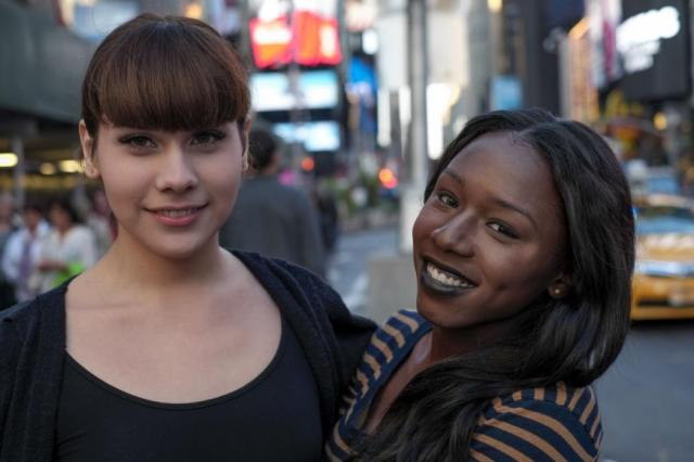 Avery Grey and Daniella Carter, two of the trans women featured. via NY Daily News