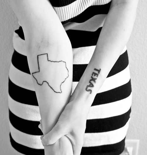 "I kinda want something like this but not the word ""Texas."" That's taking it a little too far for me."