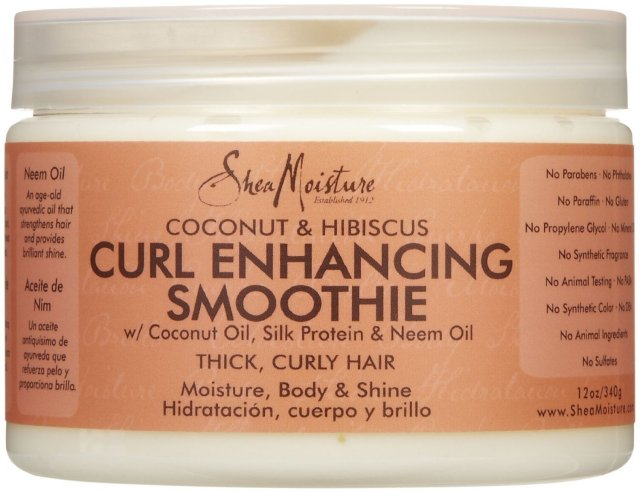 this shit rules shea moisture curl enhancing smoothie