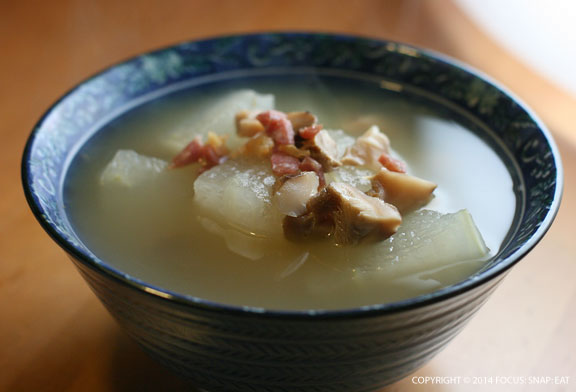 via Winter Melon Soup