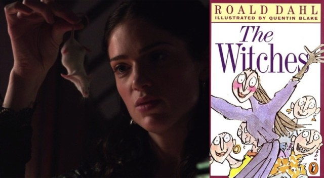 Oooh, remember Roald Dahl's The Witches? The mice might be children!