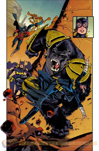 Batgirl via Comic Book Resources