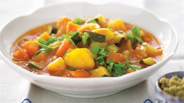 Chunky Winter Vegetable Soup