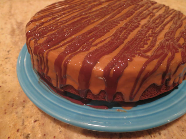 Gingerbread cookie butter holiGAY cake