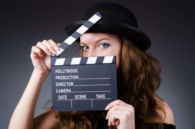 Girlwithclapperboard