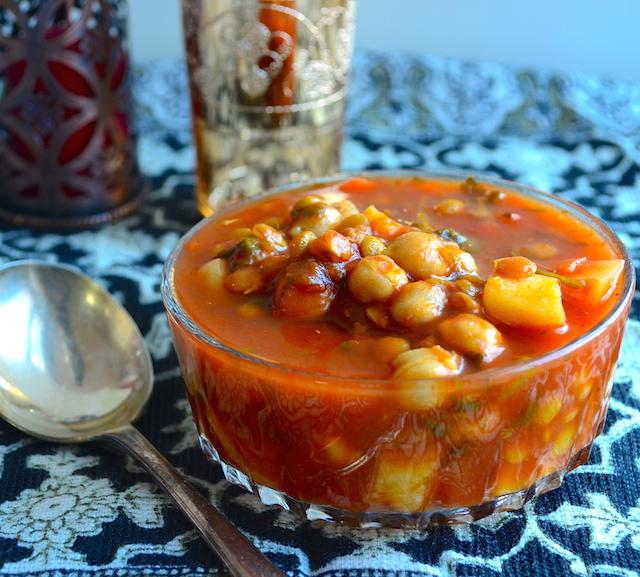 Harira Moroccan Style Vegetable Soup
