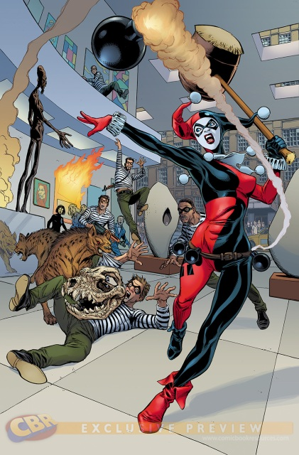 Harley Quinn via Comic Book Resources