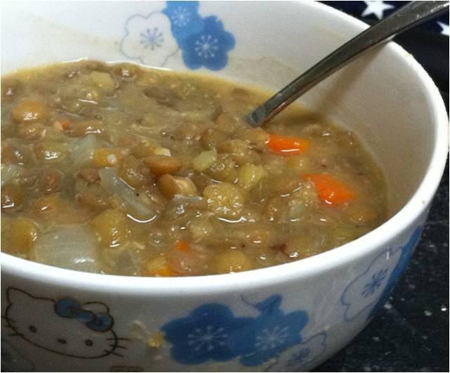 Miso Lentil Soup