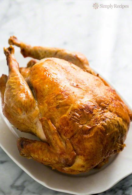 Mom's roast turkey recipe