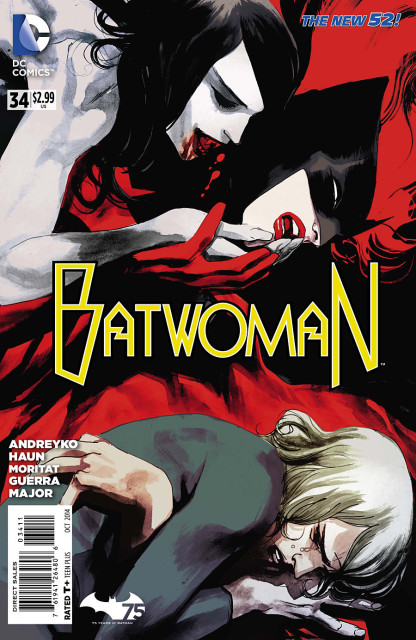 Batwoman #34 art by Mark Andreyko