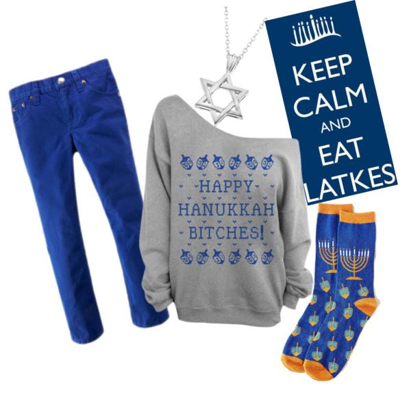 Friendsuhkkah by bing-idreamofdapper featuring holiday socks